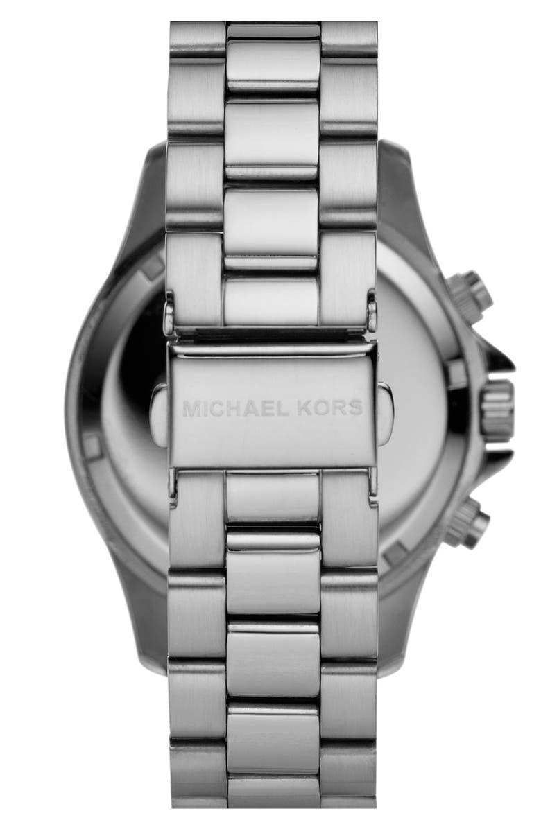 MICHAEL MICHAEL KORS Michael Kors 'Small Layton' Chronograph Watch, 38mm, Main, color, 040