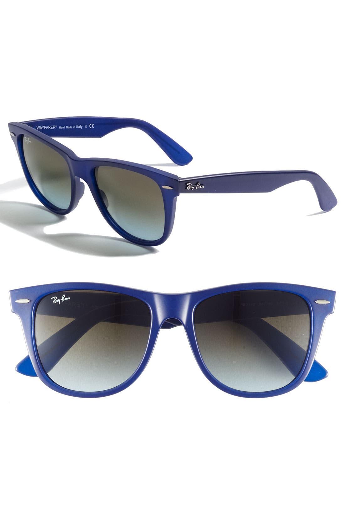 ,                             Large Classic Wayfarer 54mm Sunglasses,                             Main thumbnail 7, color,                             418