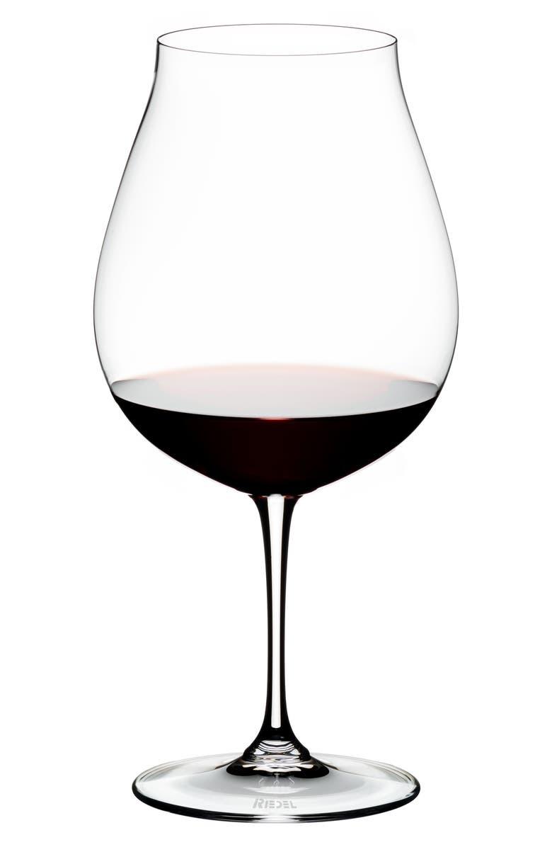 RIEDEL Vinum New World Set of 2 Pinot Noir Glasses, Main, color, 100