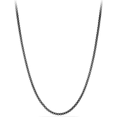 David Yurman Chain Box Chain Necklace