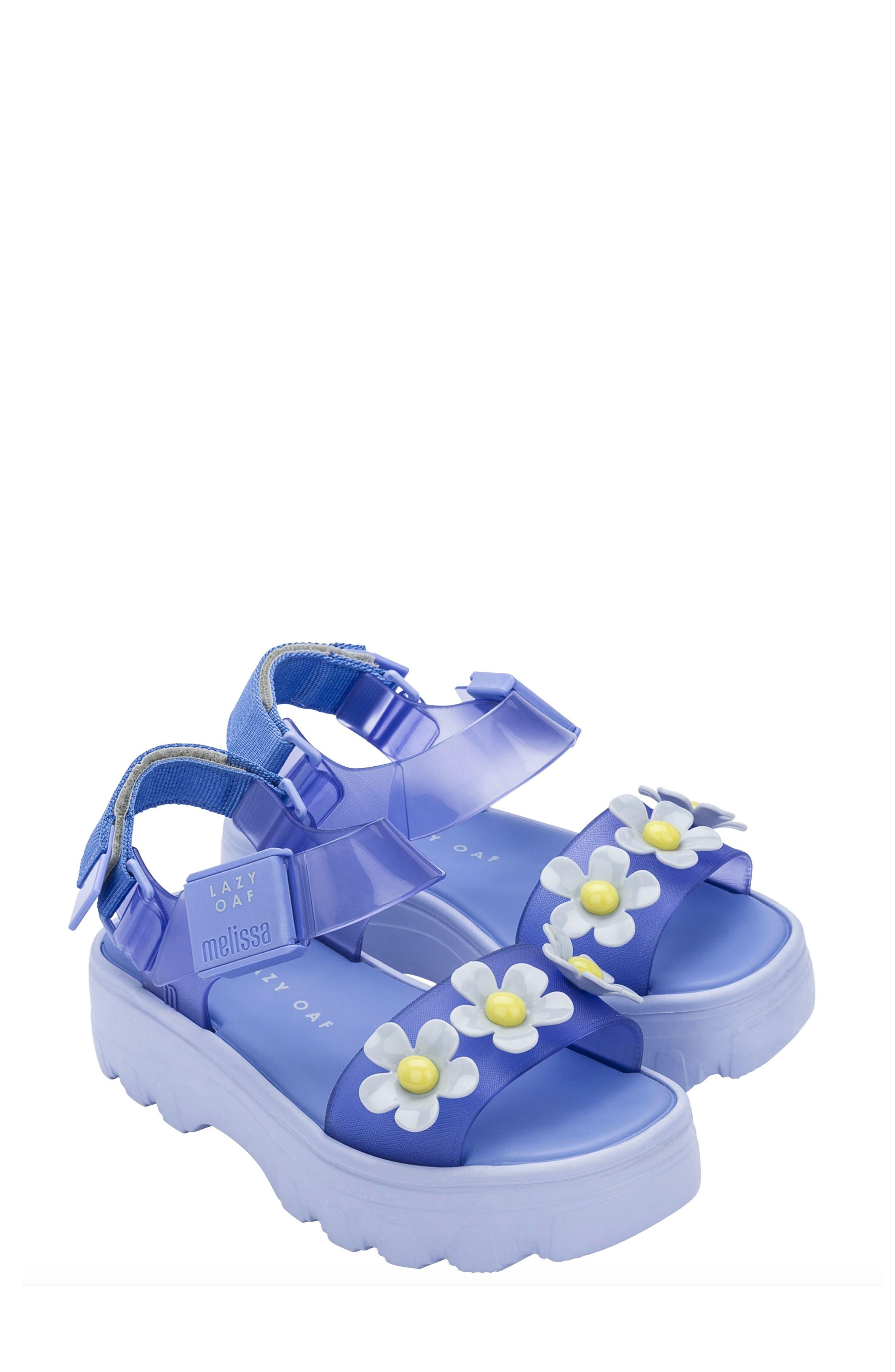 X Lazy Oaf Kick Off Lug Sole Platform Sandal