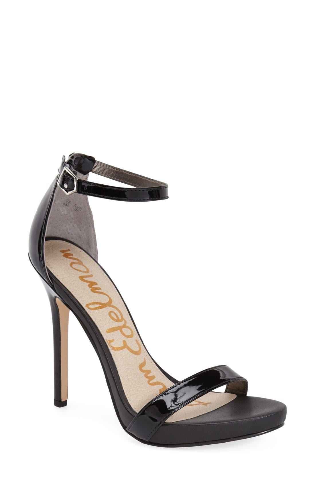 ,                             'Eleanor' Ankle Strap Sandal,                             Main thumbnail 25, color,                             005