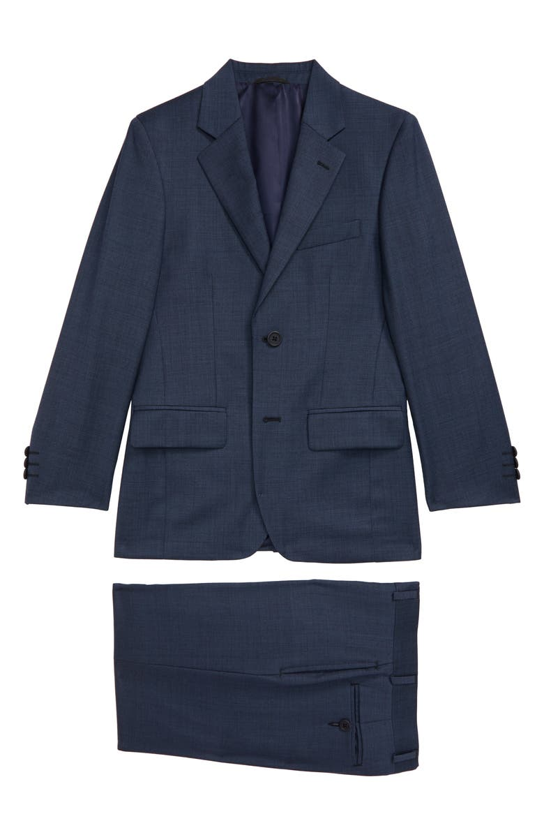 JB JR. Sharkskin Wool Suit, Main, color, 422