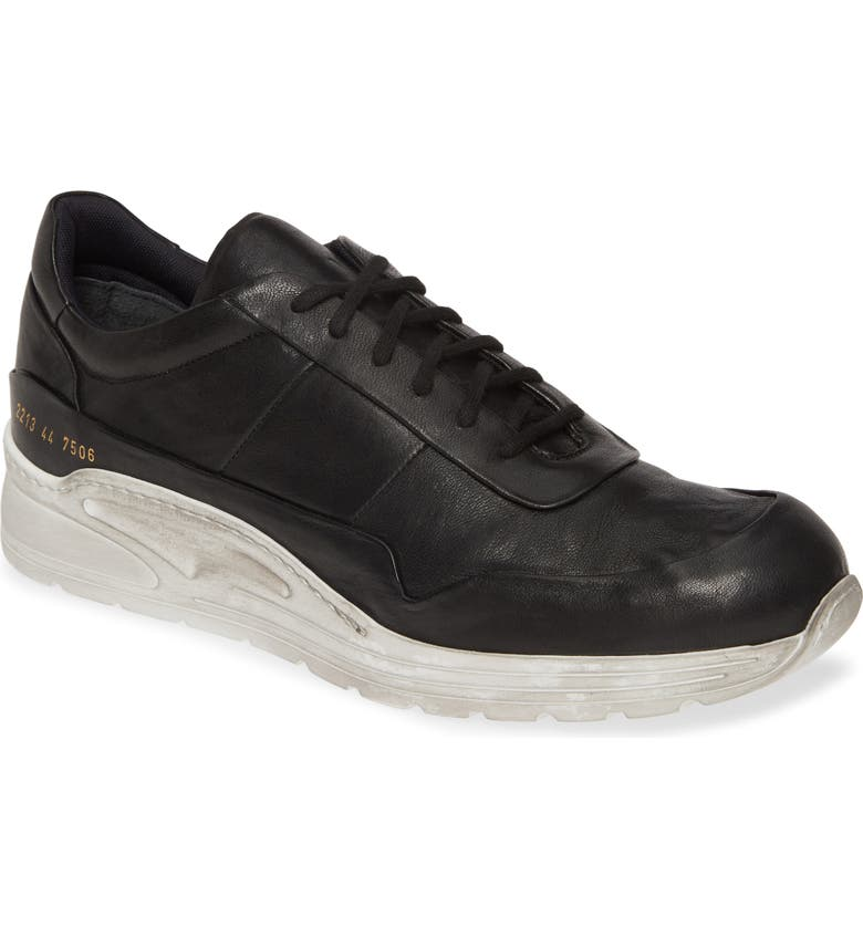 COMMON PROJECTS Cross Trainer Sneaker, Main, color, BLACK/WHITE