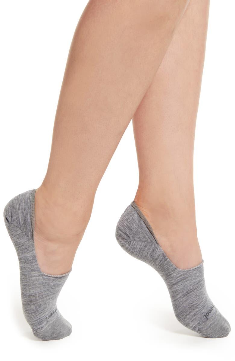 SMARTWOOL Hide & Seek No-Show Socks, Main, color, LIGHT GREY