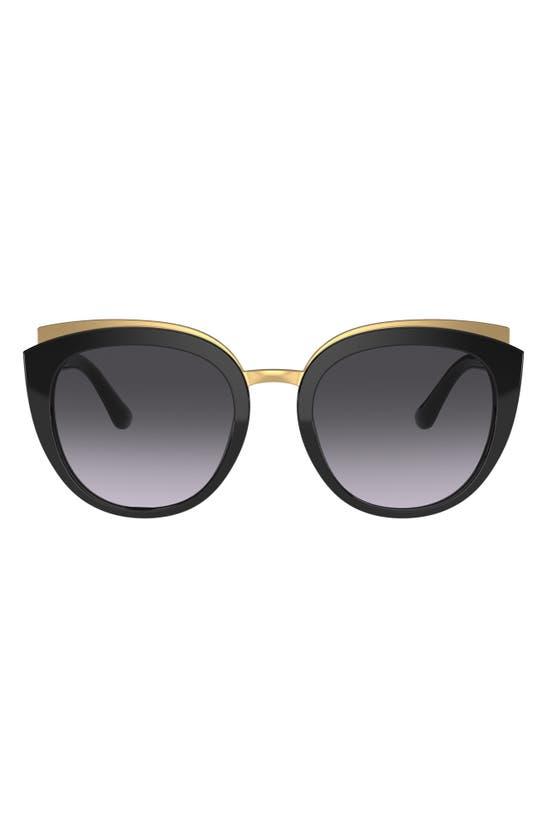 Dolce & Gabbana Butterfly 54mm Sunglasses In Bordeaux