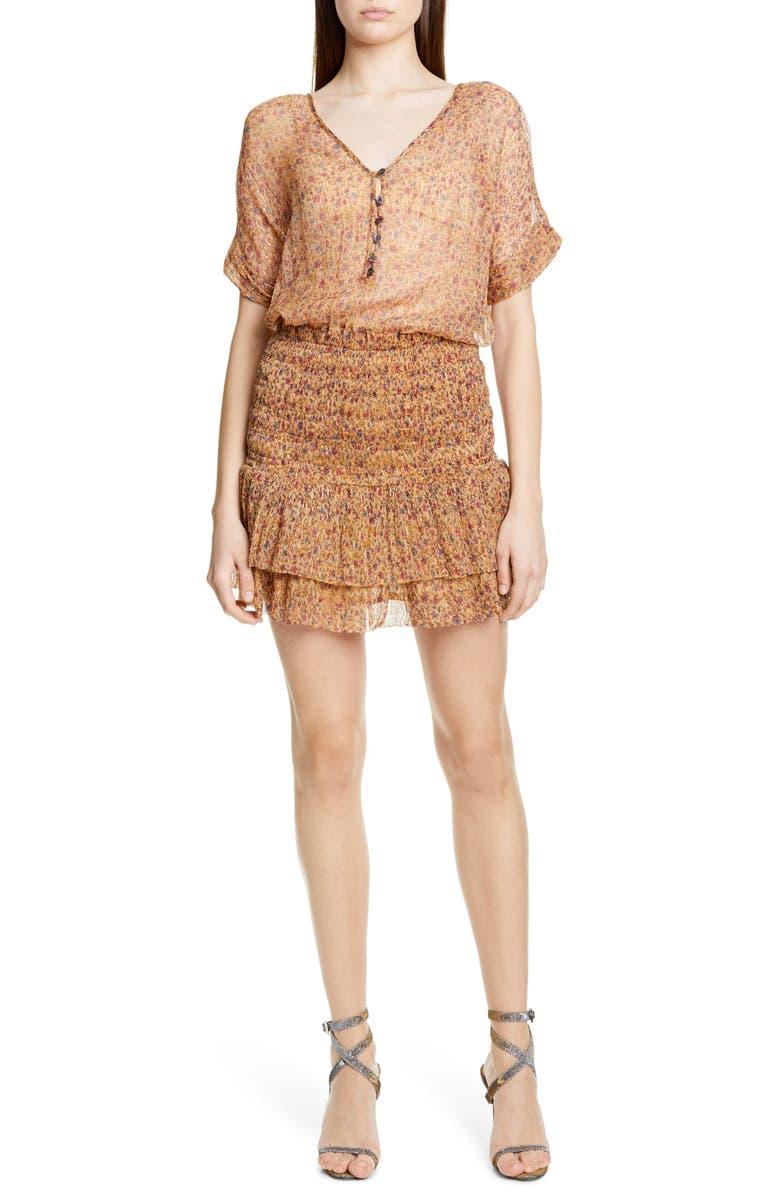 MES DEMOISELLES Ambroisie Minidress, Main, color, 250