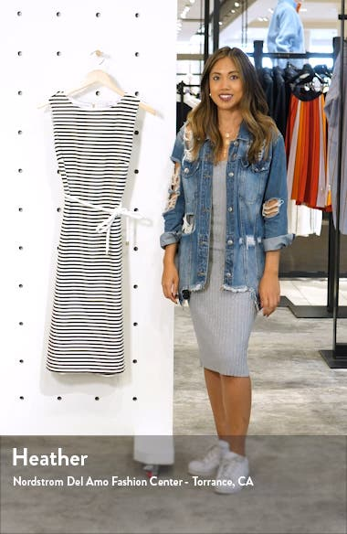 Comica Stripe Dress, sales video thumbnail