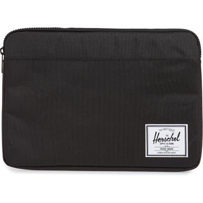 Herschel Supply Co. Anchor 13-Inch Macbook Sleeve - Black