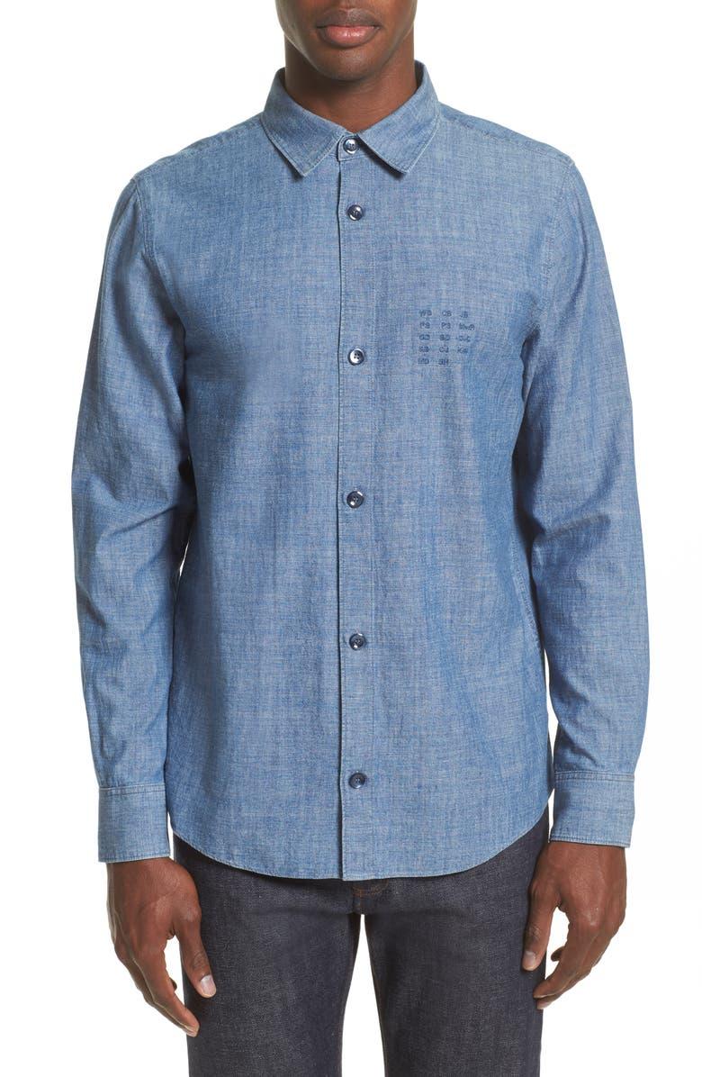 c90056009f2b A.P.C. Chambray Chemise Shirt