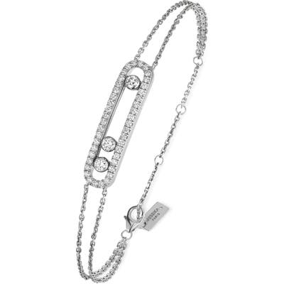 Messika Baby Pave Move Two-Strand Diamond Bracelet