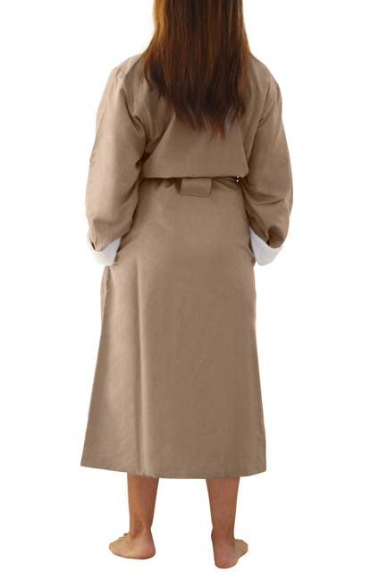 Image of H2 HOME COLLECTION Luxury Microfiber Spa Robe