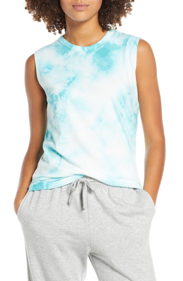 ALTERNATIVE Tie Dye Muscle Tee, Main, color, 400