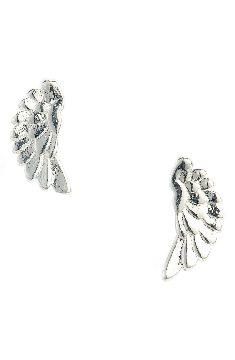 ESTELLA BARTLETT Wing Stud Earrings, Main, color, 040
