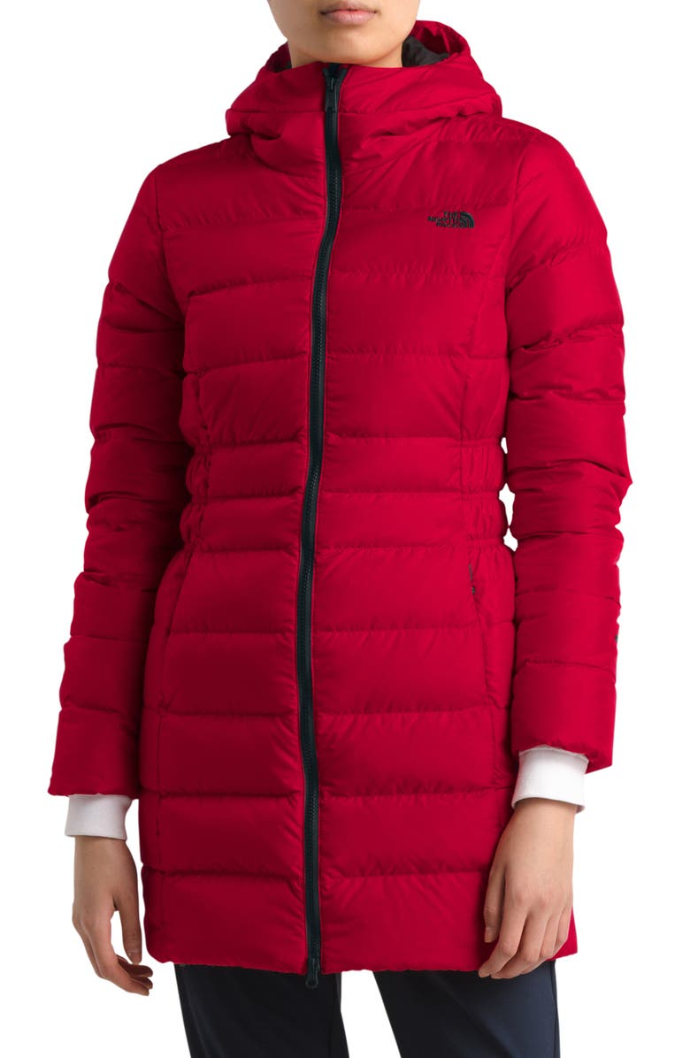 THE NORTH FACE Gotham II Down Parka, Main, color, TNF RED