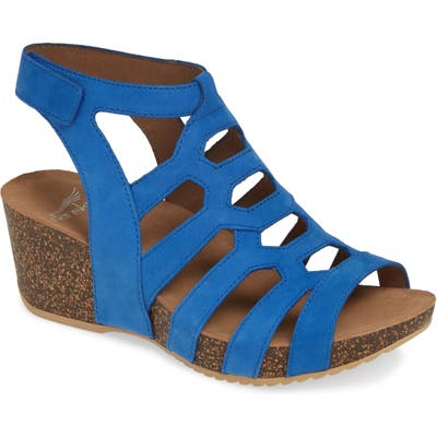 Dansko Selina Wedge Sandal - Blue