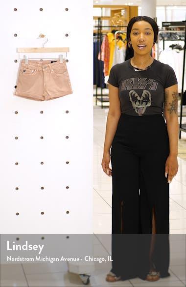 The Karlie Roll Cuff Shorts, sales video thumbnail