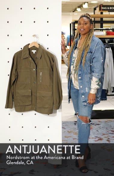 Harry Oversize Shirt Jacket, sales video thumbnail