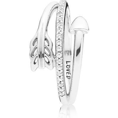 Pandora Sparkling Arrow Ring