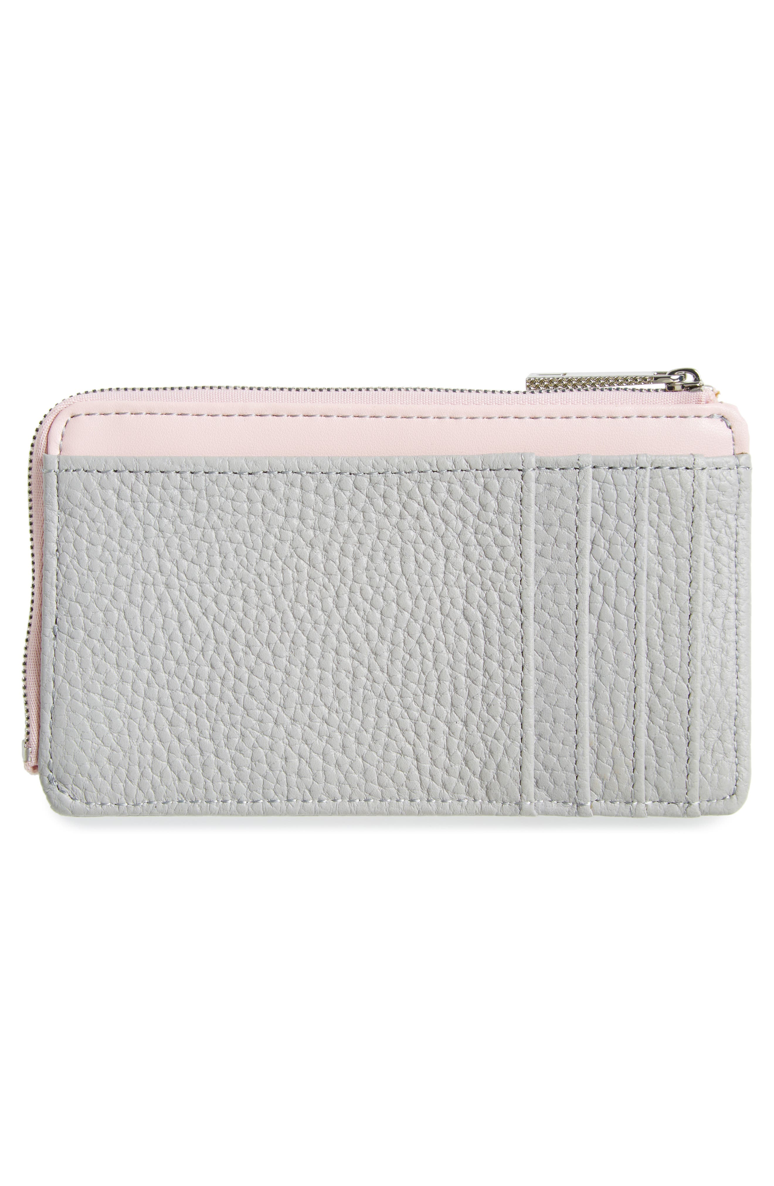 ,                             Lotta Bow Leather Card Case,                             Alternate thumbnail 4, color,                             020