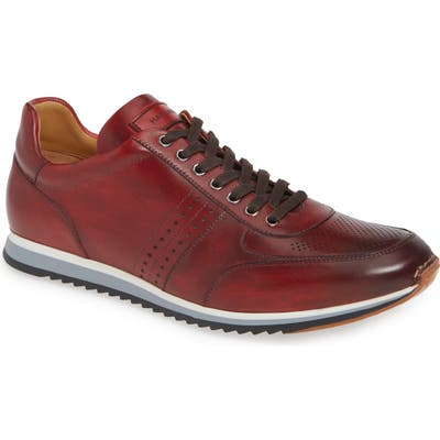 Magnanni Marlow Water Resistant Sneaker, Red