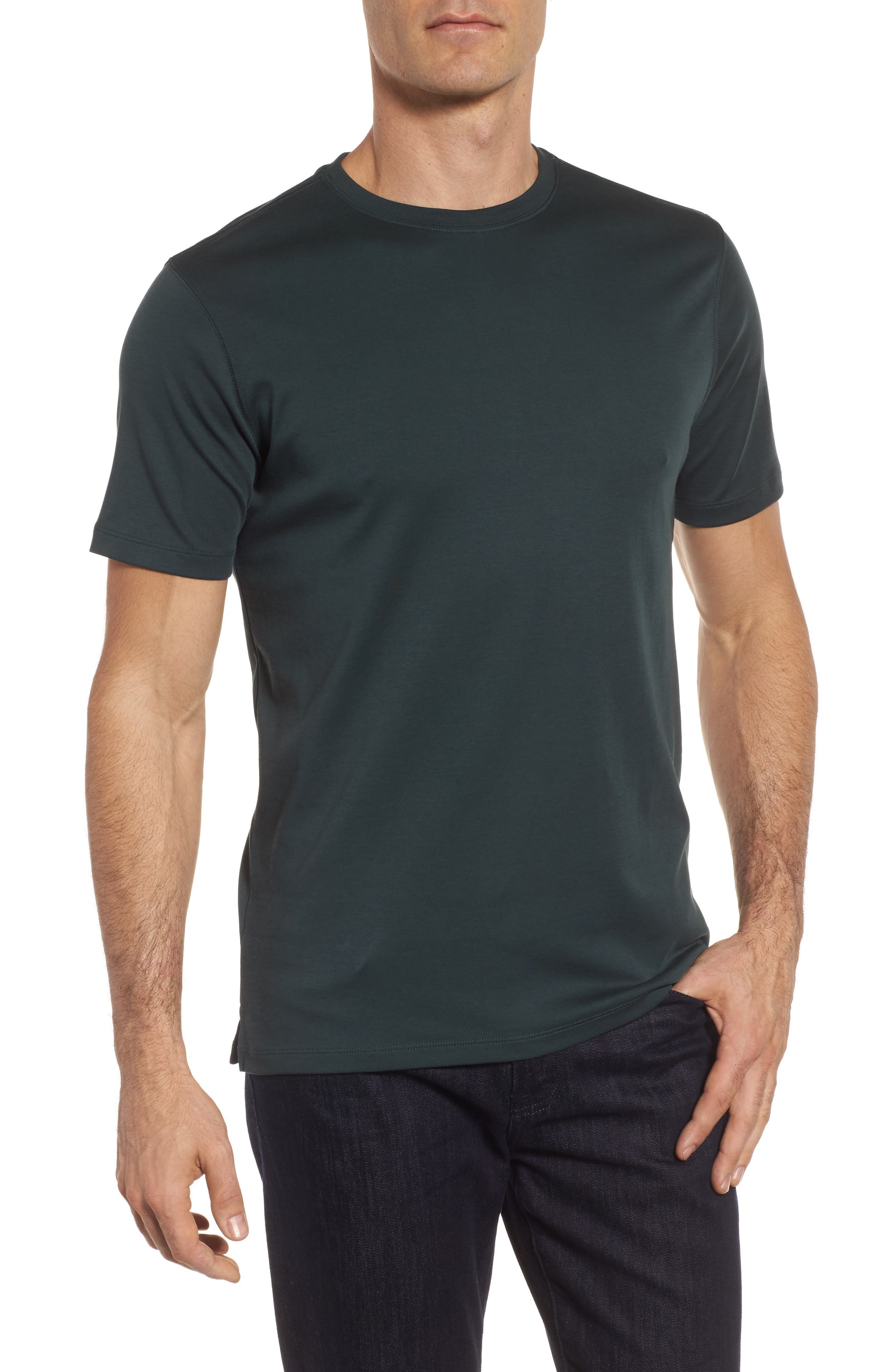 ,                             Georgia Crewneck T-Shirt,                             Main thumbnail 210, color,                             352