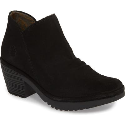 Fly London Wezo Bootie-6- Black