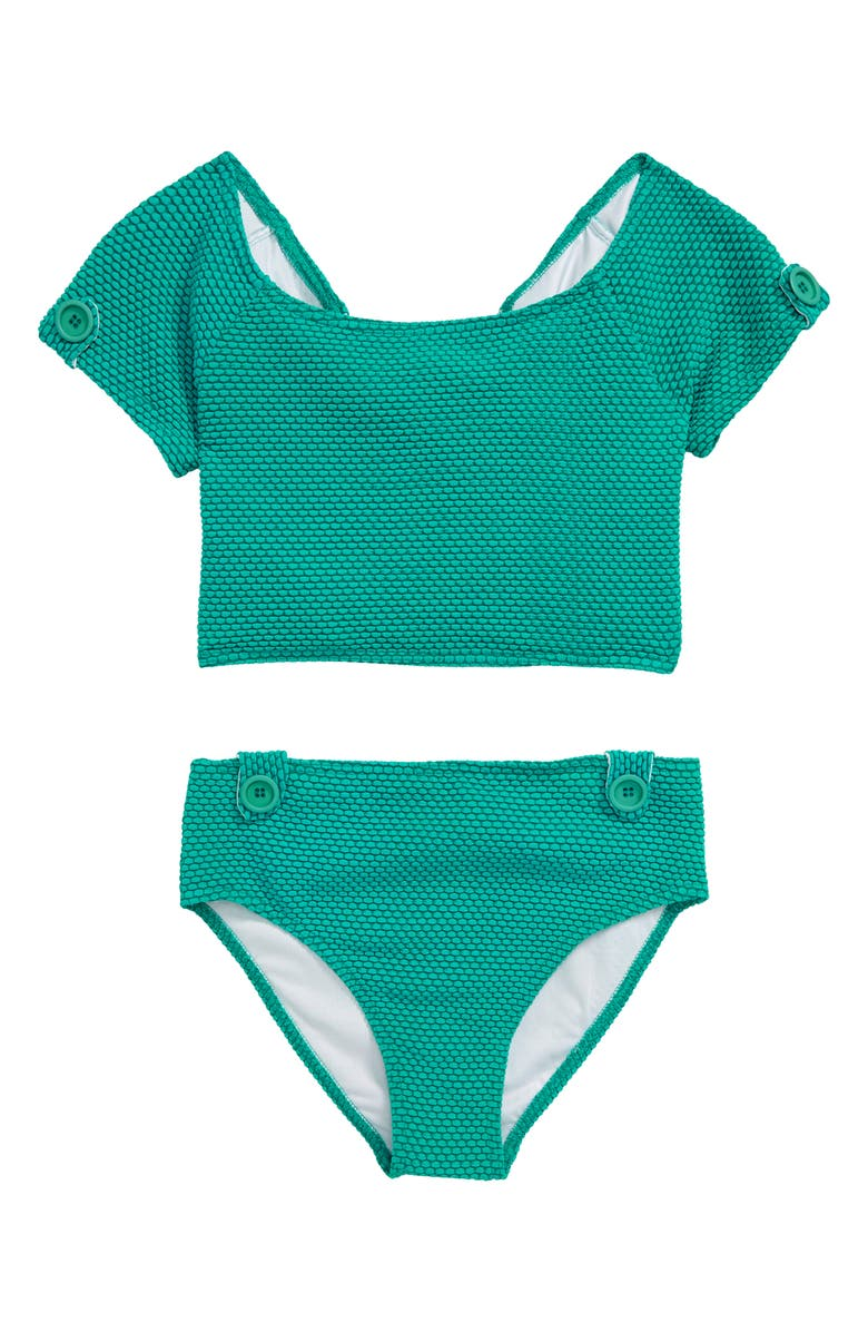 HEART AND HARMONY Dots Two-Piece Swimsuit, Main, color, 440
