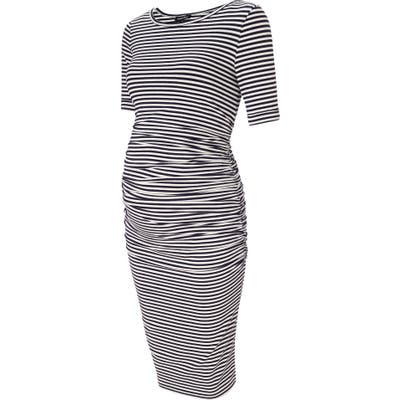 Isabella Oliver Arlington Stripe Maternity Dress
