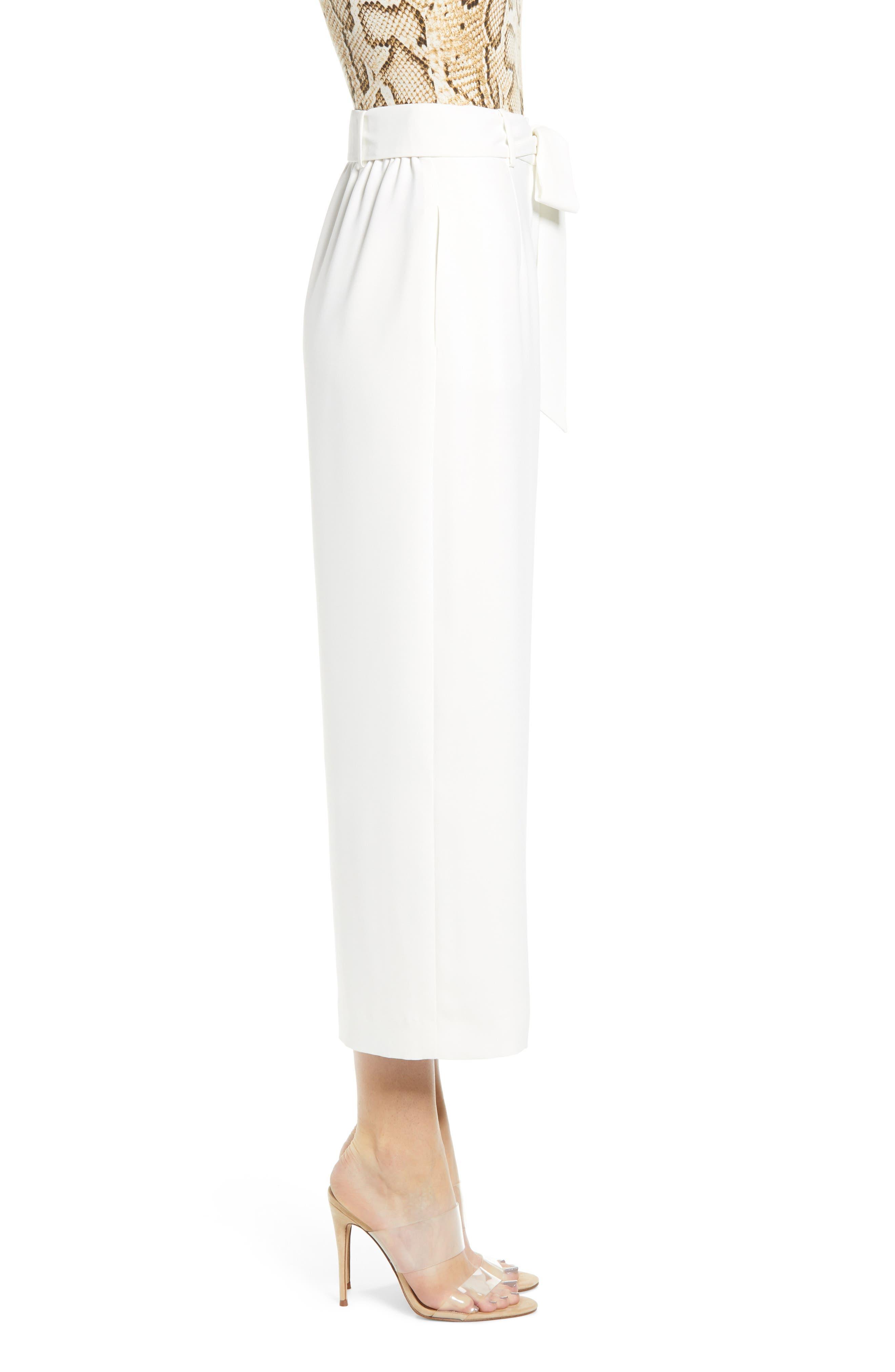 ,                             Layne Pintuck Belted Pants,                             Alternate thumbnail 4, color,                             900