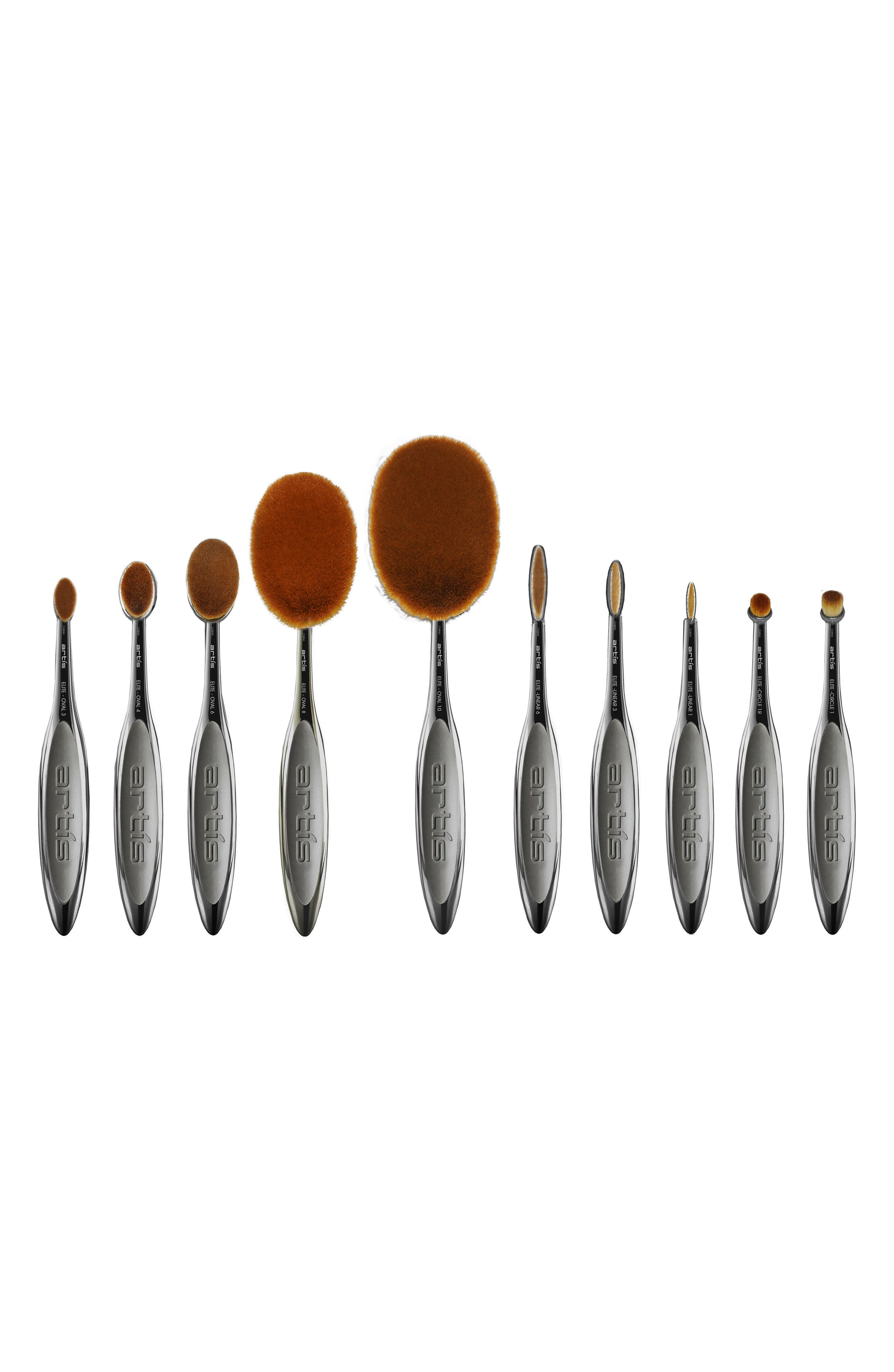 Elite 10-Piece Brush Collection