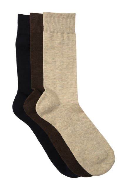 Image of Nordstrom Rack Cushioned Crew Socks - Pack of 3