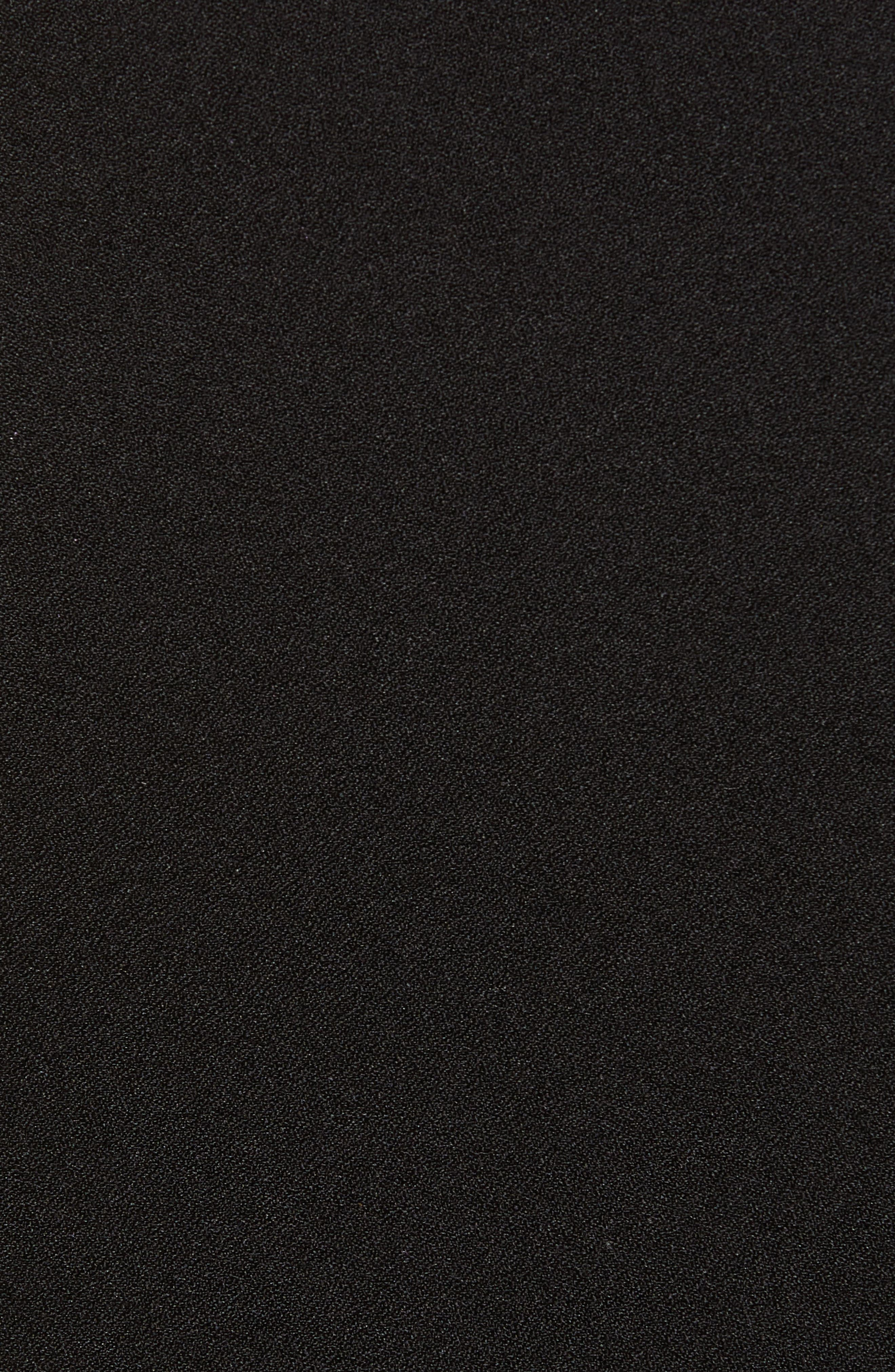 ,                             Button Front Skirt,                             Alternate thumbnail 5, color,                             BLACK