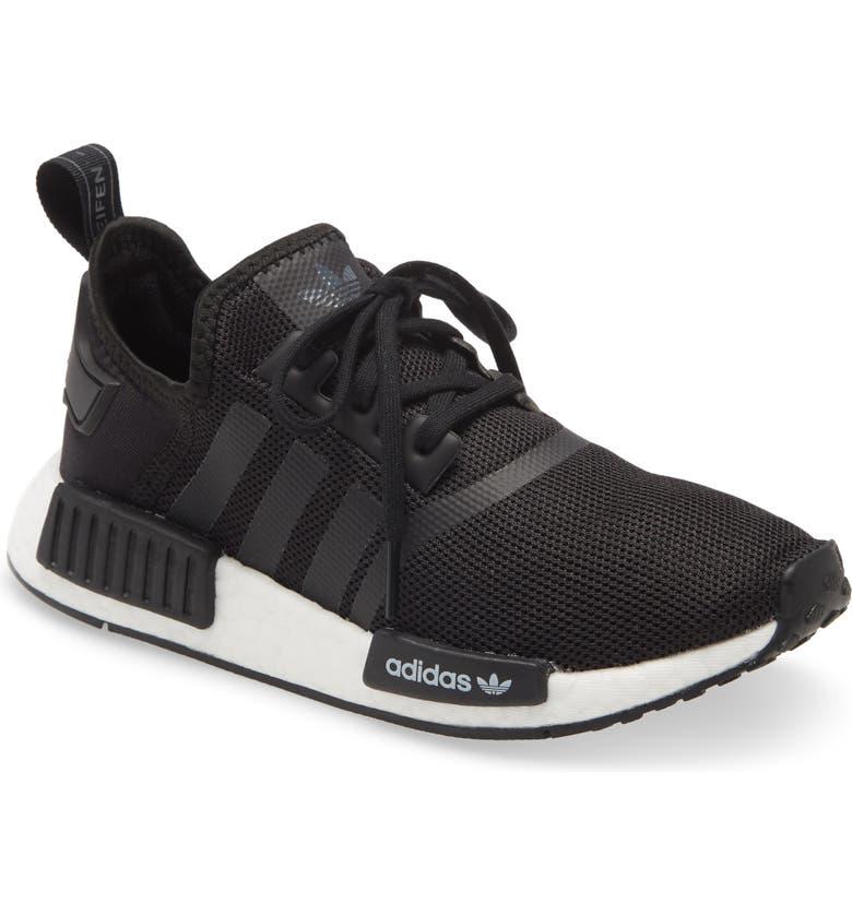 ADIDAS NMD_R1 Sneaker, Main, color, CORE BLACK/ WHITE MULTI