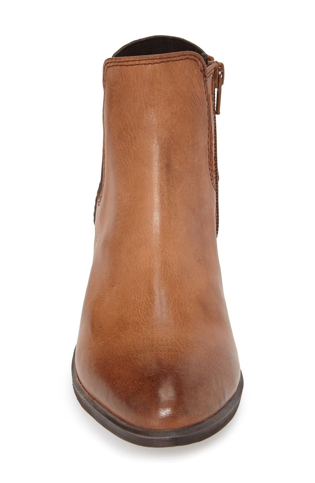 ,                             'Rozamare' Leather Ankle Bootie,                             Alternate thumbnail 8, color,                             201