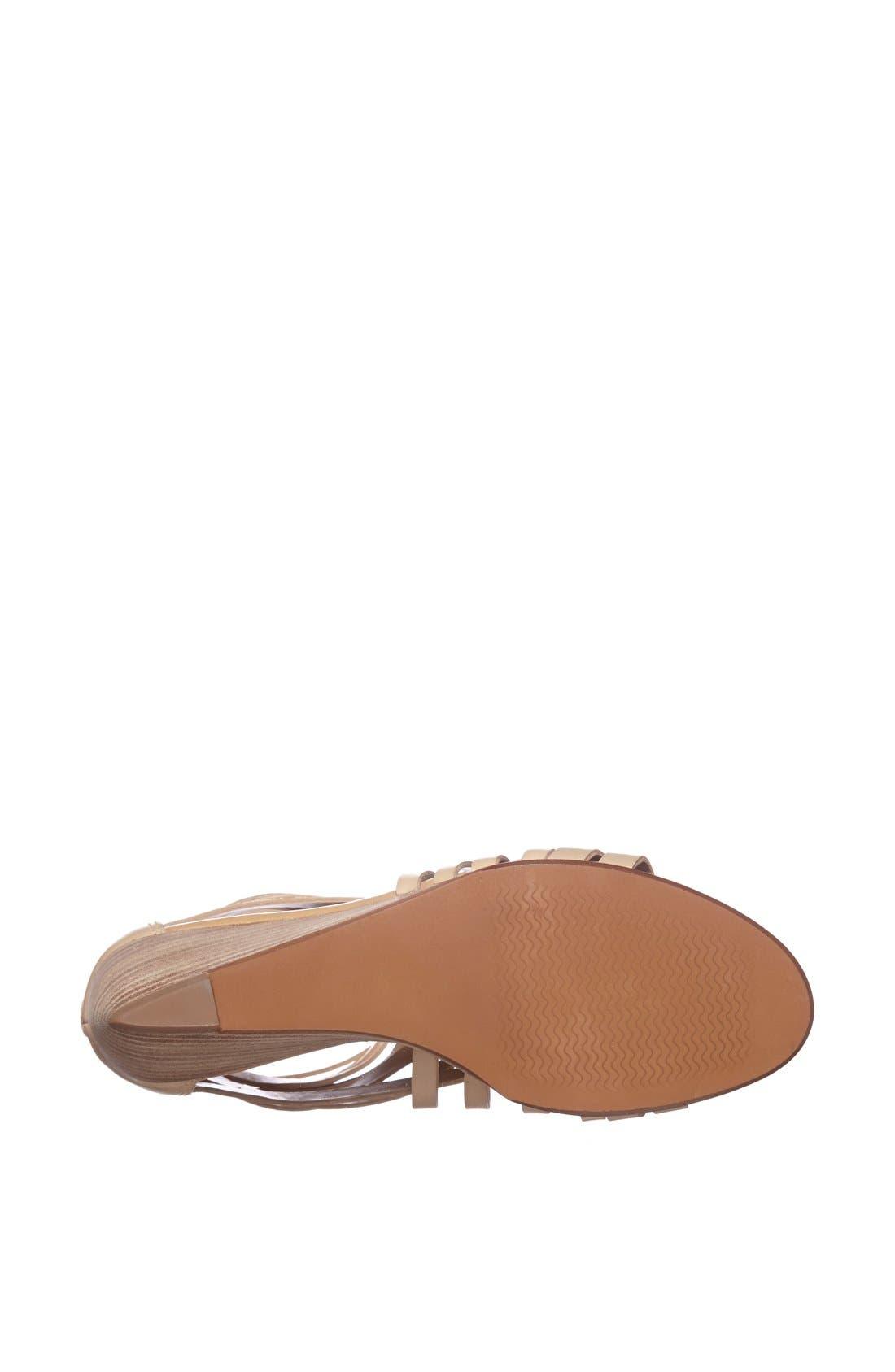 ,                             'Neta' Leather Wedge Sandal,                             Alternate thumbnail 20, color,                             252