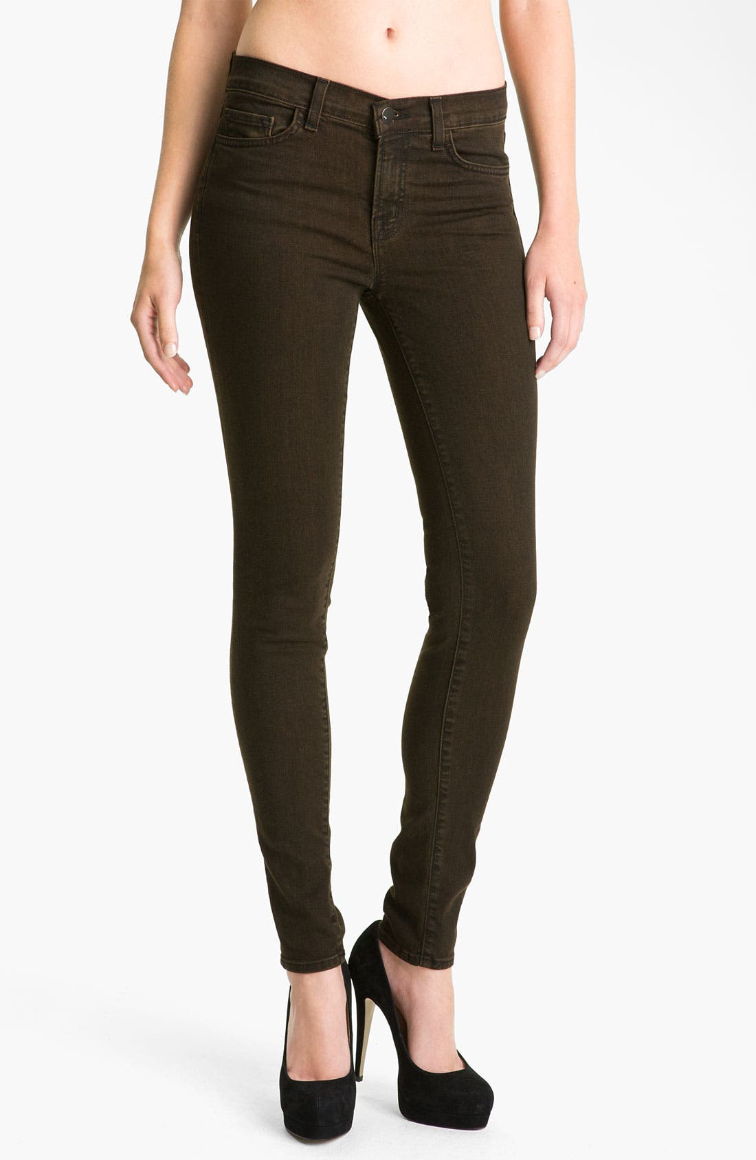 ,                             Skinny Stretch Ankle Jeans,                             Alternate thumbnail 23, color,                             205
