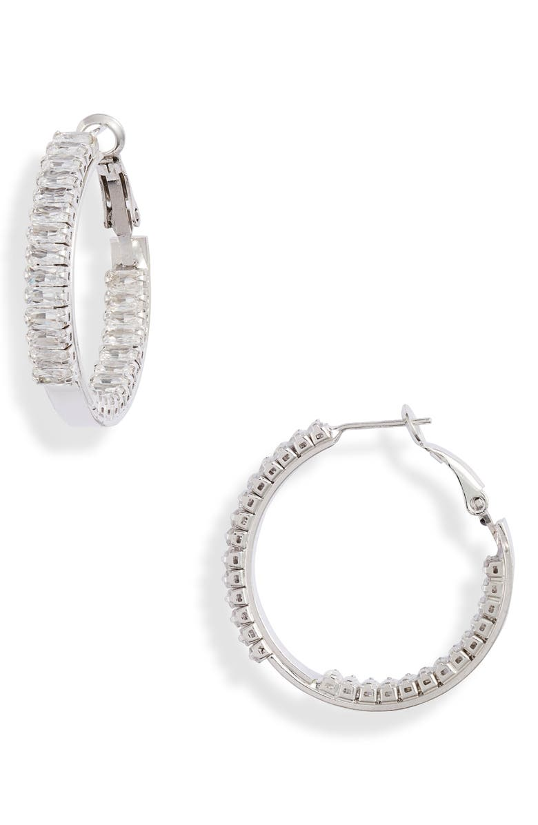 8 OTHER REASONS Top Notch Inside Out Hoops, Main, color, 040