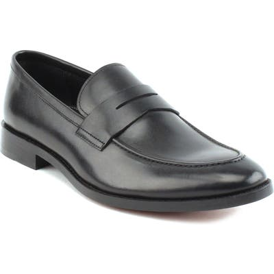 Gordon Rush Henderson Penny Loafer, Black