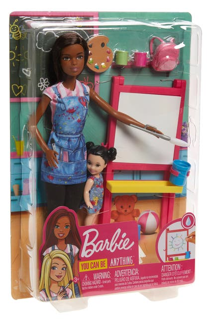 Image of Mattel Barbie(R) Art Teacher Doll Playset