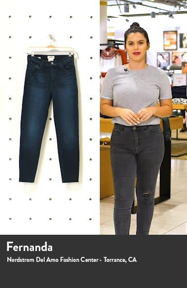 El Matador Slim Raw Hem Crop Jeans, sales video thumbnail