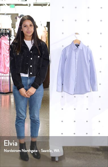 Mini Check Dress Shirt, sales video thumbnail