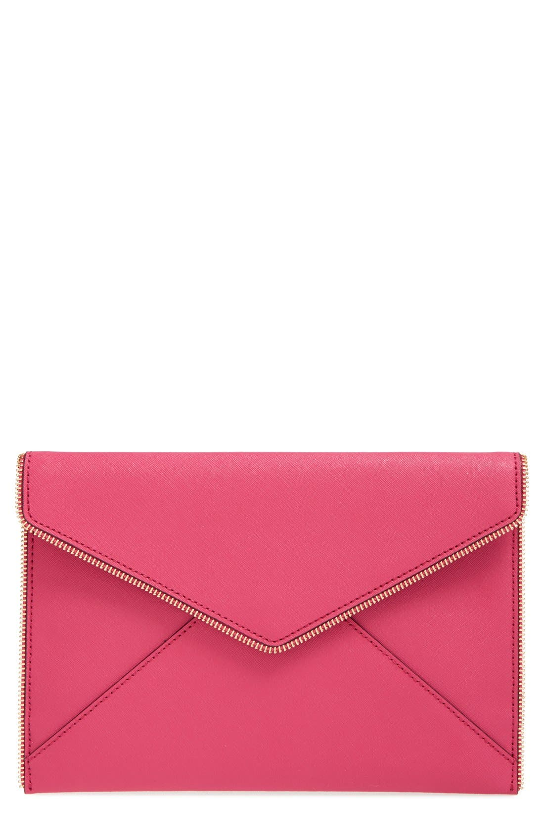 ,                             Leo Envelope Clutch,                             Main thumbnail 270, color,                             655