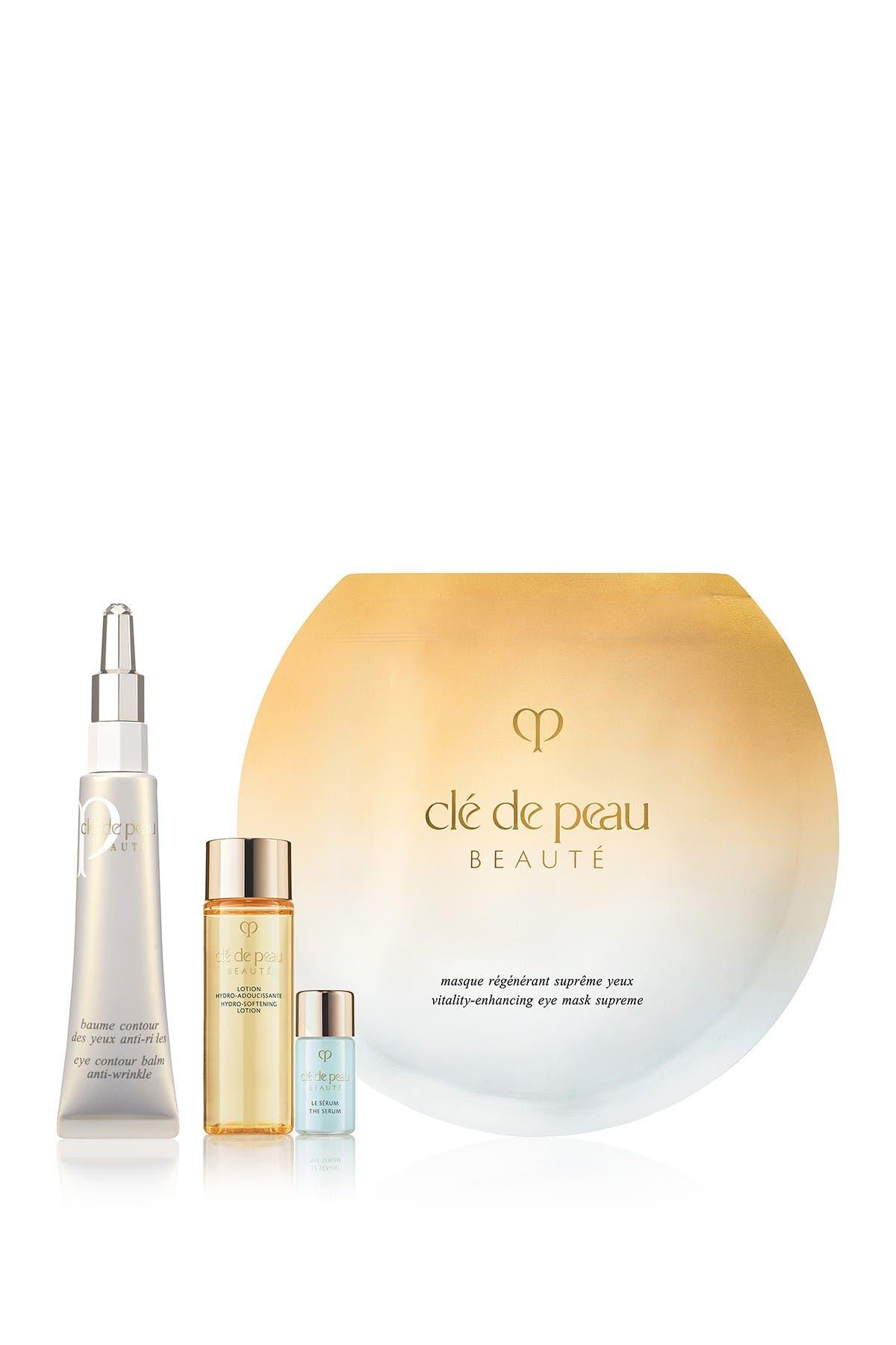 Image of CLE DE PEAU Beauté Eye Contour Balm Anti-Wrinkle Set