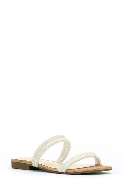 Jessica Simpson Slides RAEXE 2 EMBELLISHED SLIDE SANDAL