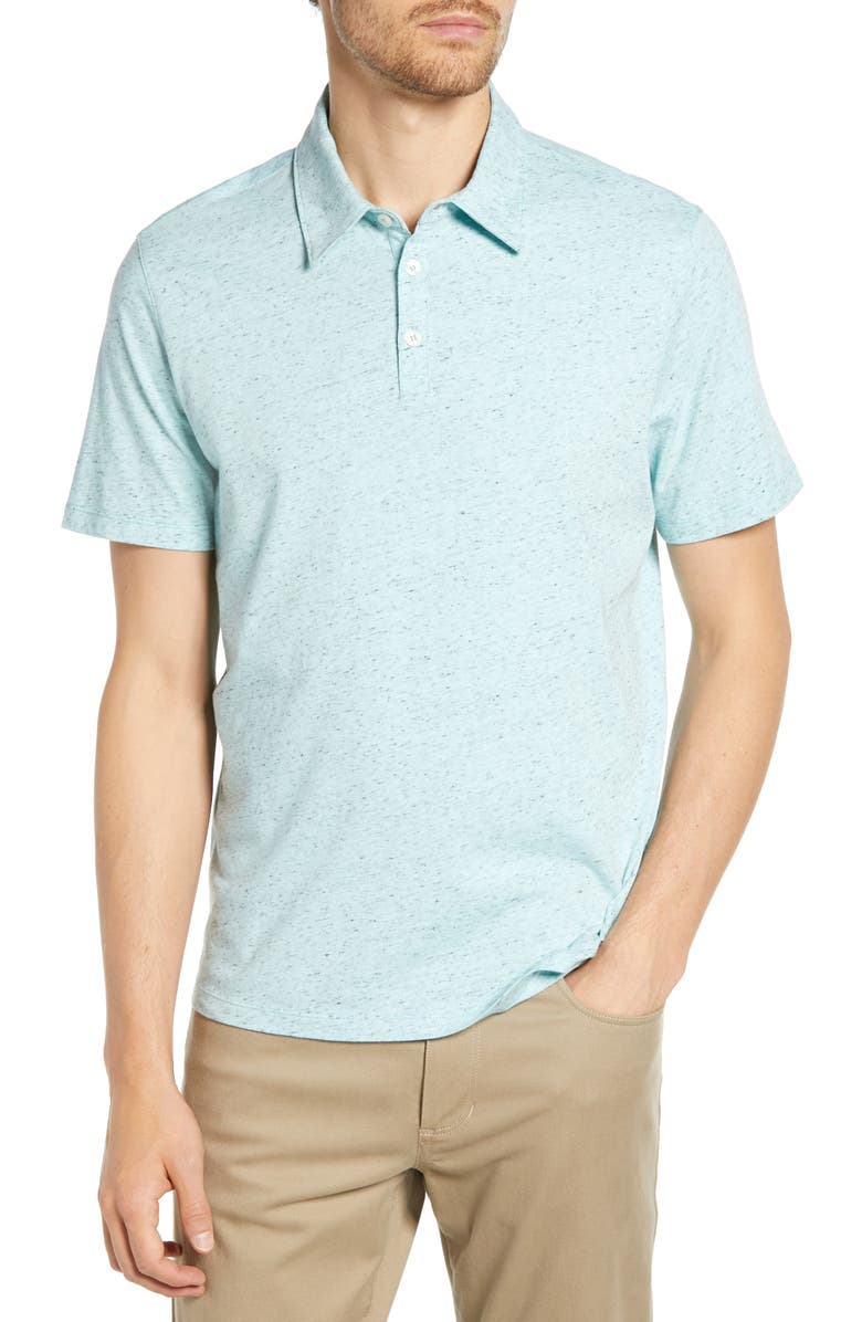 ZACHARY PRELL Cadler Regular Fit Polo Shirt, Main, color, 435