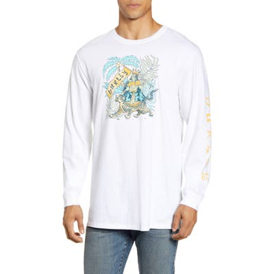 Hurley Expedition Long Sleeve T-Shirt, White