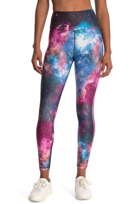 Image of Good American The Core Galaxy Print High Waist Leggings