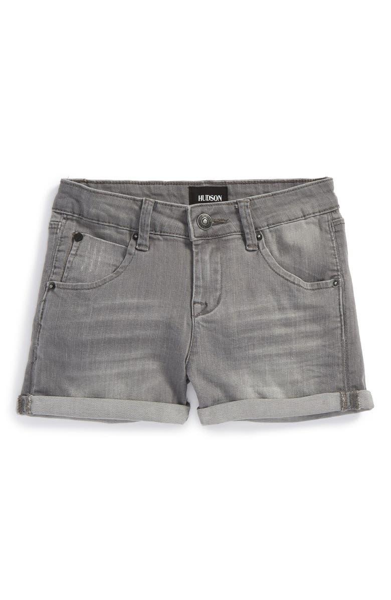 HUDSON KIDS Roll Cuff Shorts, Main, color, 026