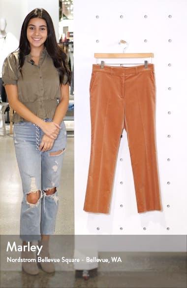 Perfect Slim Crop Trousers, sales video thumbnail